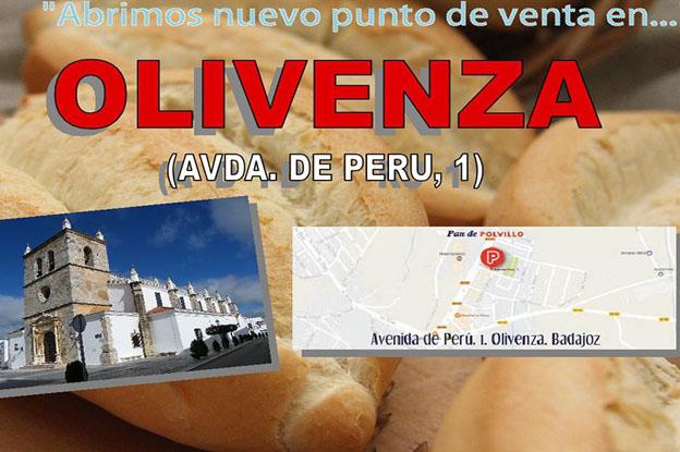 Tienda Polvillo en Olivenza