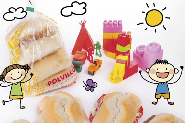 pan para niños