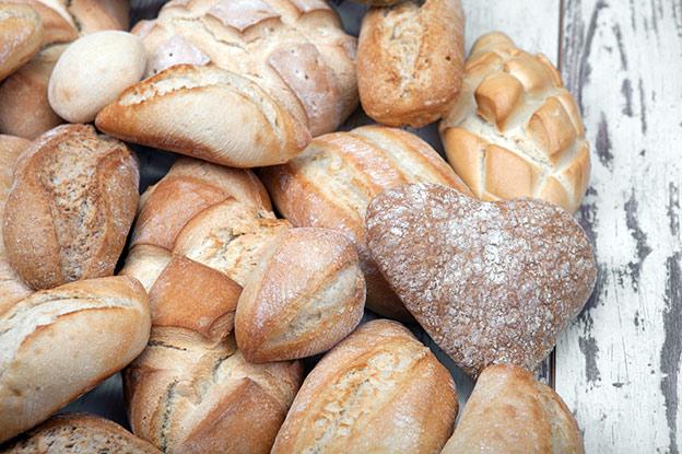 pan en tu comida