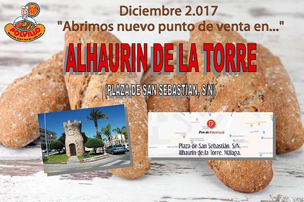 pan en Alhaurin de la Torre