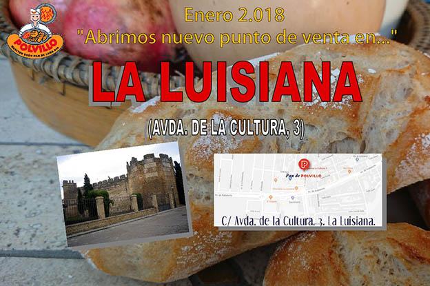 pan en La Luisiana