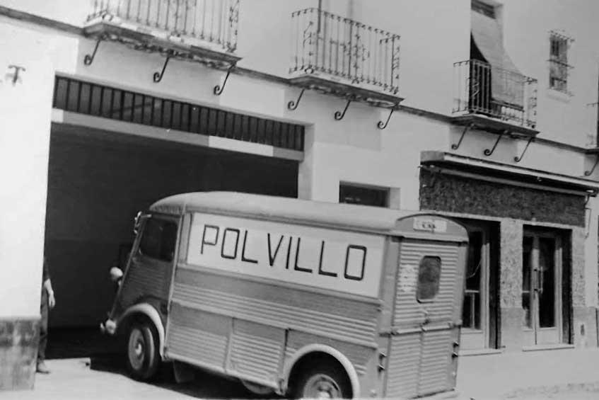 Citroen H: Los camiones de reparto de Panaderías Polvillo años 60