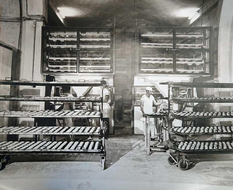 Interior Instalaciones Panaderia Polvillo