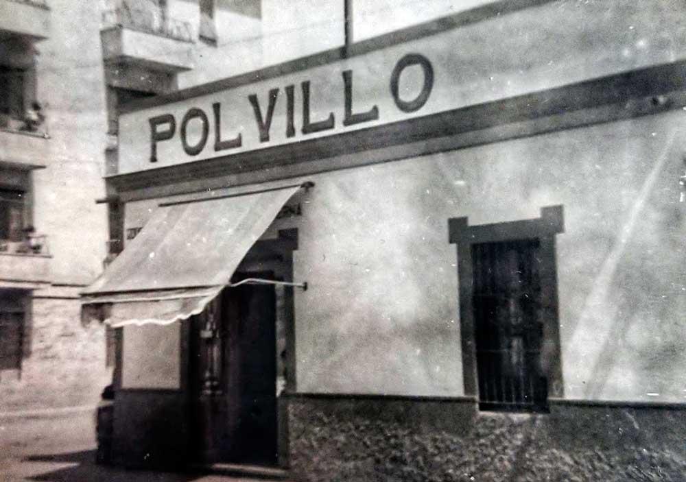Primera panadería Polvillo en Sevilla años 50. Historia Polvillo. Elaboración tradicional.