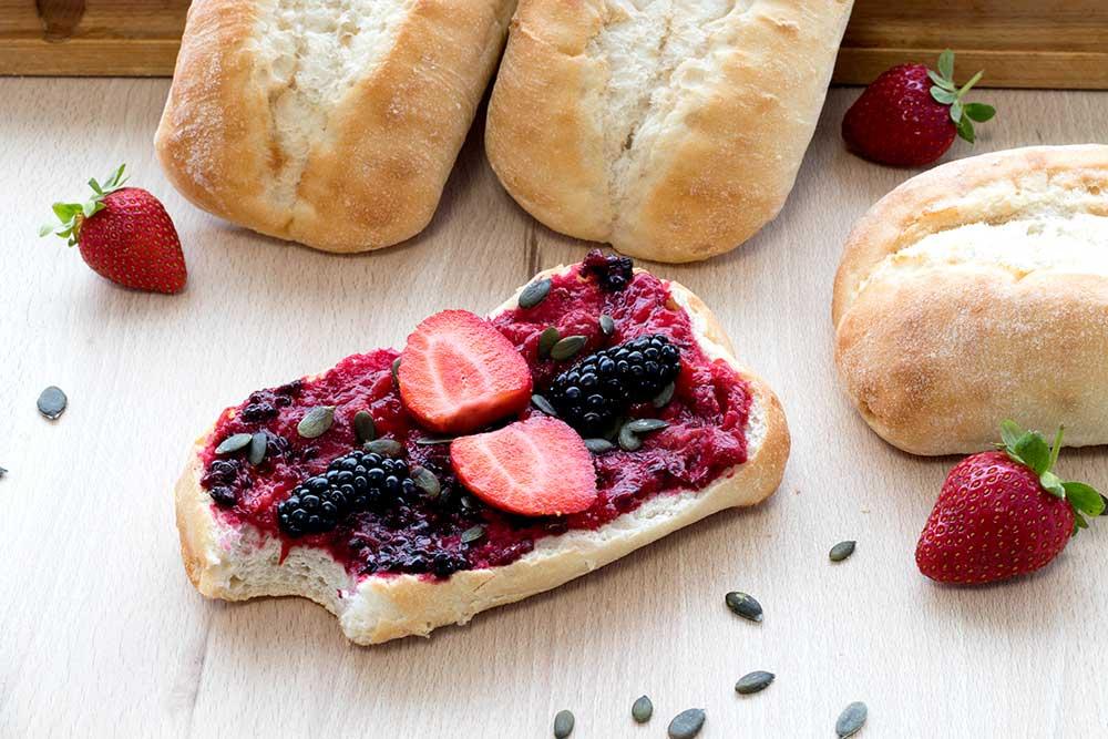pan vegano y sin lactosa