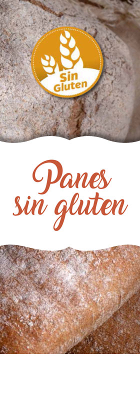 14 Panes sin gluten