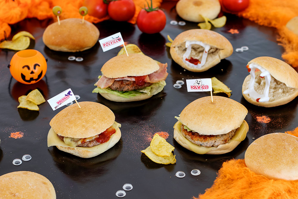pan de hamburguesa